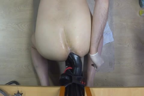 long Time Self Fuking With A large dildo