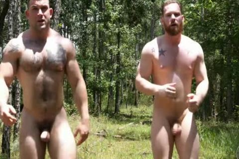 2 Swinging dongs In The Woods