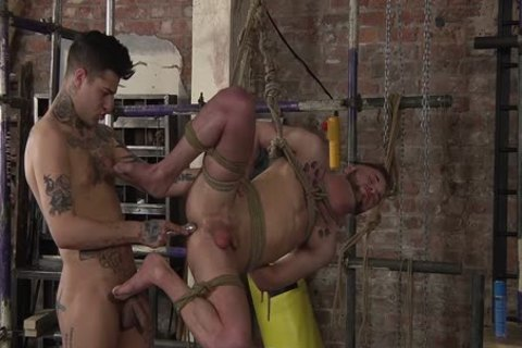 young homo Koby Lewis fastened And drilled Hard By Mickey Taylor