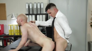 power Dynamics - Paddy O'Brian and Orson Deane spanking screw