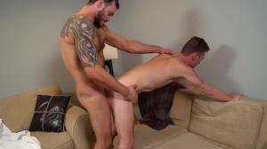 Pranksters - Cliff Jensen with John Henry Muscle nail