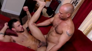 The DILF Diaries - John Magnum and Beaux Banks arse Licking Nail