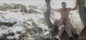 homo Of Thrones - Connor Maguire with Paddy O'Brian ass slam