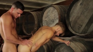 Forbidden - Paddy O'Brian with Matt Anders butthole nail