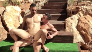 males In Ibiza - Paddy O'Brian and Juan Lopez pooper Hook up