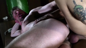 The Law Of males - Mickey Taylor with Scott Hunter butthole nail