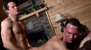 Aaron's First Time - Aaron Anderson and Liam Rosso anal Love