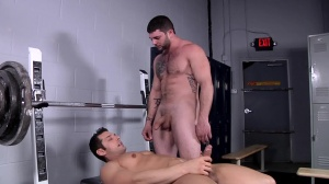 Comparing cock Size - Marcus Ruhl and Tony Paradise butthole Love