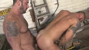 Late For Work - Spencer Reed and Alex Marte butthole Hump