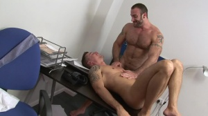 Pulling An All Nighter - Spencer Reed and Jay Roberts ass nail