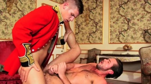 A Royal Fuckfest - Paul Walker & Mike De Marko butthole job