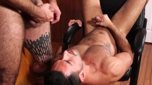 Breakfast Cub : A gay XXX Parody - Teddy Torres and Mick Stallone butthole Nail