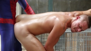 Spiderman : A gay XXX Parody - Aston Springs and Will Braun pooper Hump