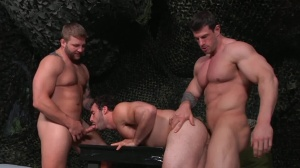 trip Of Duty - Zeb Atlas and Colby Jansen anal Nail
