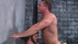 First Time Bottom - Christian Wilde with Joey Carter anal pound