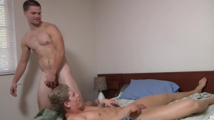 Blocking The Roommate - Jimmy Johnson with Brett Carter anal screw