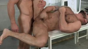 Defiance - Paddy O'Brian and Victor D'Angelo butt hammer