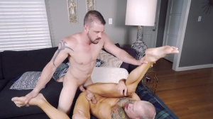 The Cookout - Brett Lake with Darin Silvers anal fuck