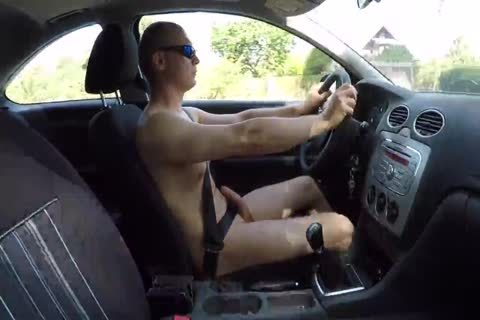 Drive naked And Masturbation Outdoor
