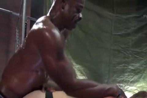 Aaron Trainer Trains Max Adonis butthole