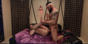 Art Of Domination - Jessy Ares and Tyler Berg ass Hook up