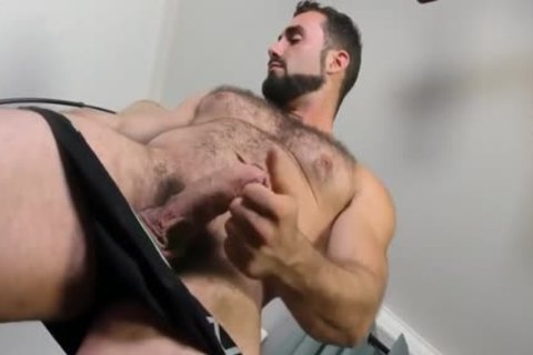 Jaxton Wheeler jerking off Is curly cock