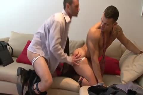 Spanish Hunks In Suits With large dicks bang