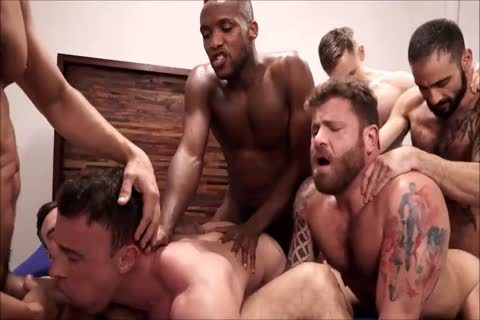 bunch Interracial bare Sex