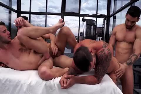 tasty Muscle guys Having fun