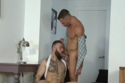 Manuel Skye & Max Hiltom plowing Each Other naked