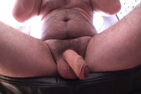 Playing Jerking And cum Uncut Foreskin hairy bi-raunchy dad's