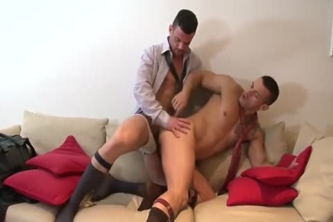 Spanish Hunks In Suits With massive penises pound