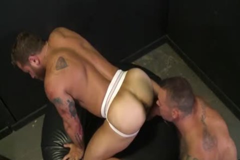 desirous For The large cock With Sean Duran & Riley Mitchel