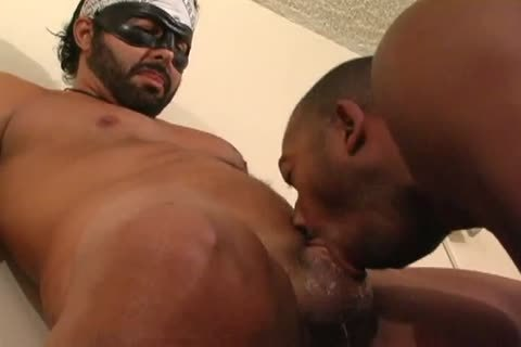 extreme Gagging In A darksome face hole