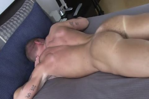 straight lad TANNER SHOW HIS REDNECK butthole