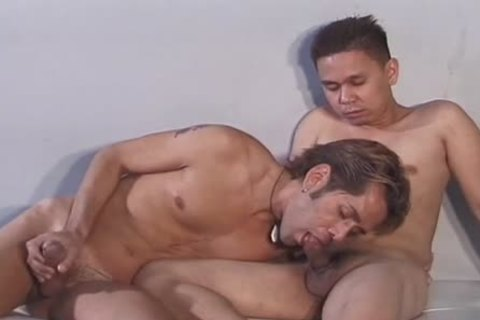 kinky twink loves Licking His Freshly fucked butt