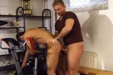 Two Buff dudes have a fun A delicious bang At The Gym