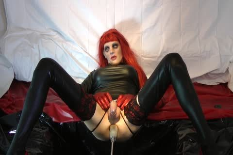 Redhead Sissy gets pounded With Chastity Belt
