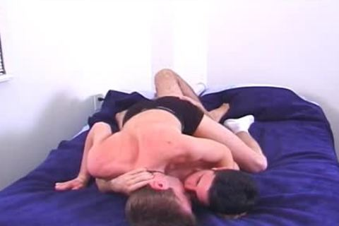 Two concupiscent College boyz fuck In Their Dorm Room