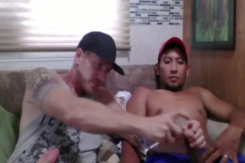 Straight Latino Construction Worker gets First handjob From A chap (Martin two)