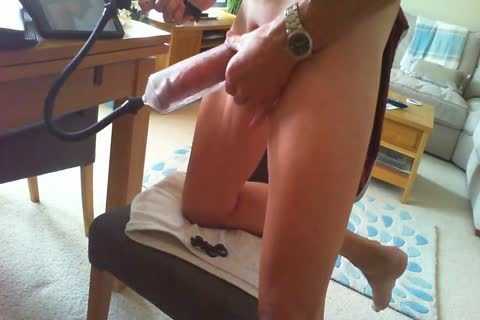 Edging With penis Pump