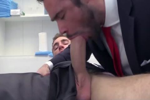 gigantic dick Doctor ass-copulation With cumshot