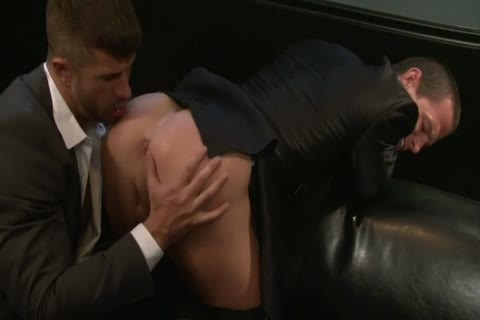 Adam Killian Takes Off His Suit To bang A Hunk
