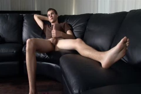 fine Sole Jerking With A yummy pooper