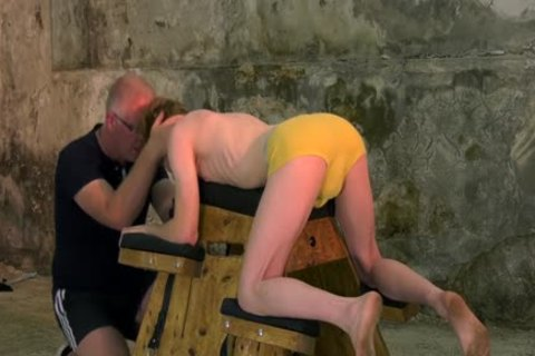 tied Up Sub With Mouthfold Endures castigation By Sebastian Kane