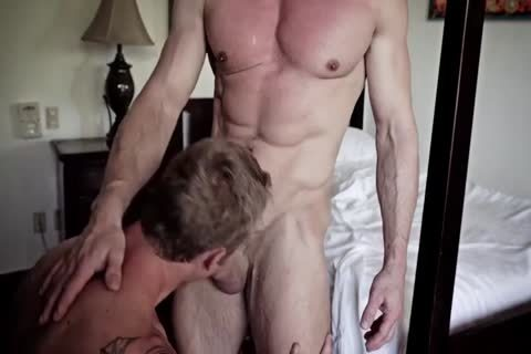 GayRoom Smooth ass Sleeper Awakens For A enormous ass plowing