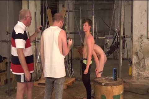 Sub twinks Alex Faux And Avery Monroe bdsm drilled By Masters