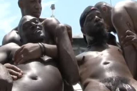 dark dudes plowing unprotected On A Boat