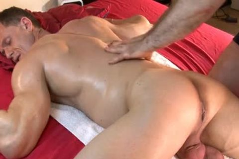 So fashionable muscular Male gets Massages By two boys In Spite Of Him : Stefen