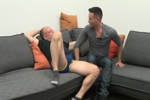 young chap Sucks & gets banged By older Daddy